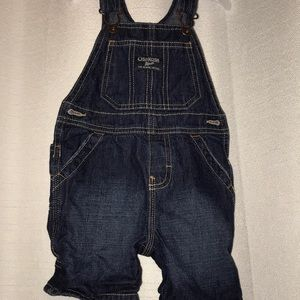 Jean Shorts Overalls